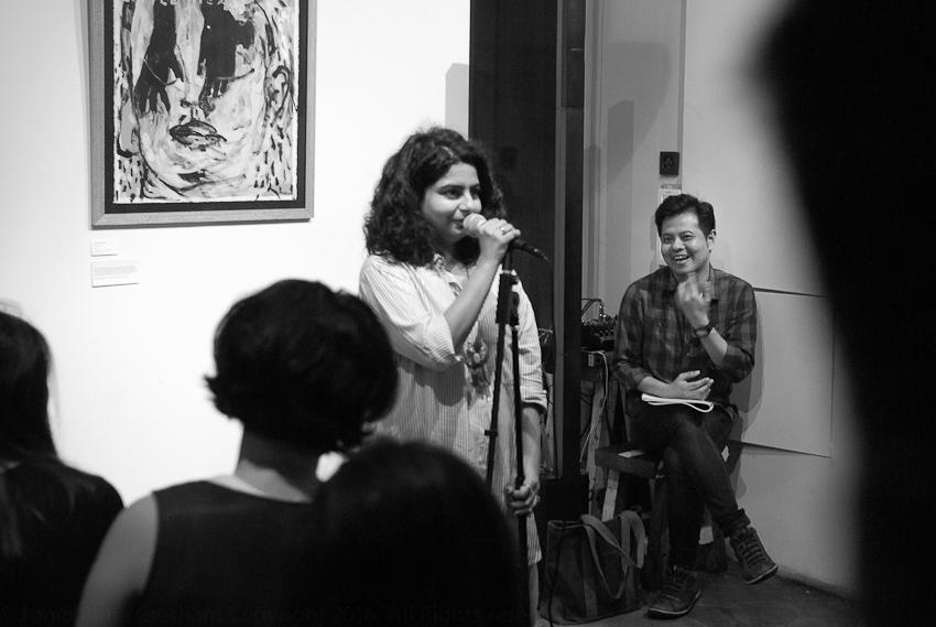 Pooja Nansi introduces Alfian Sa'at