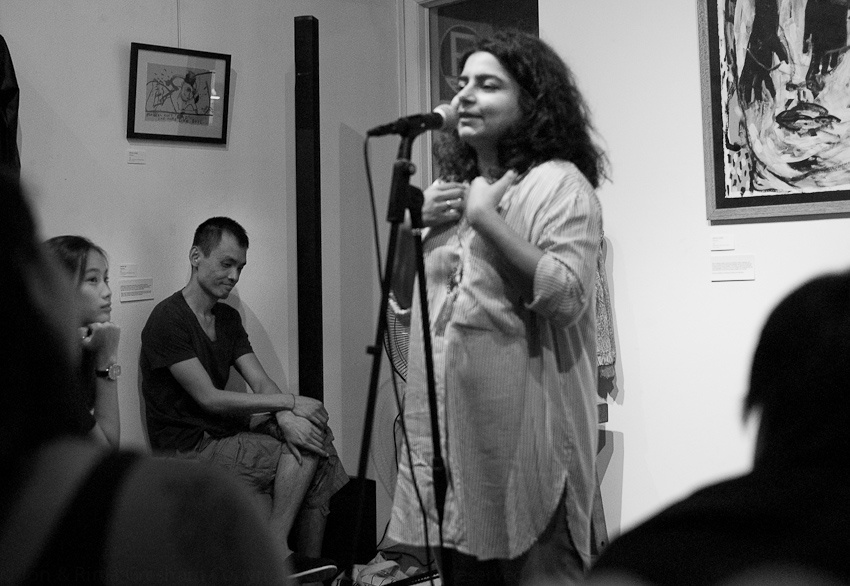Pooja Nansi introduces Cyril Wong