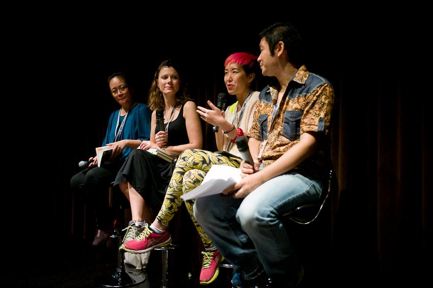 Golda Mowe, Gerour Kristny, JY Yang & Ng Yi-Sheng
