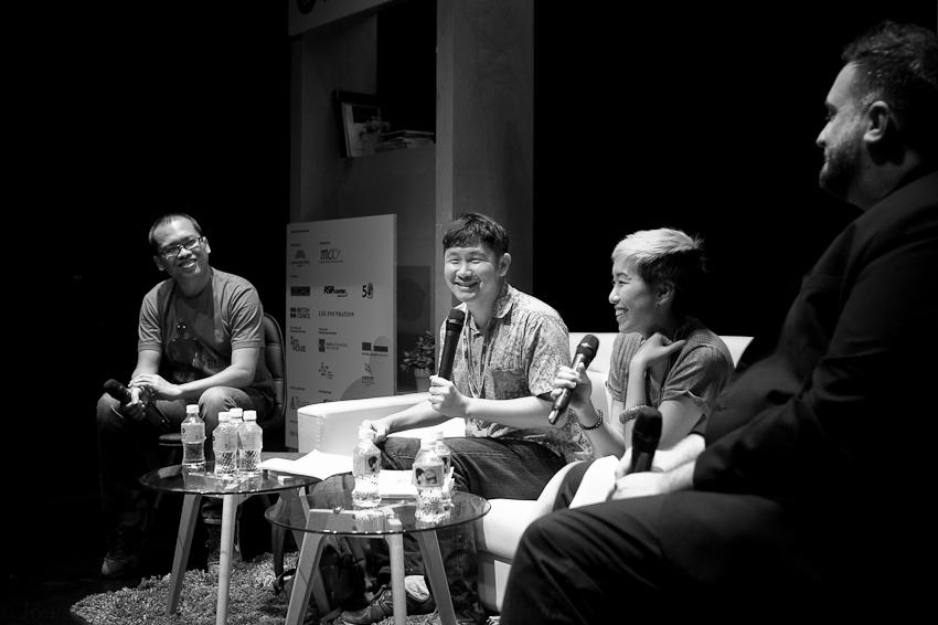 Eka Kurniawan, Ng Yi-Sheng, JY Yang & Jason Eric Lundberg