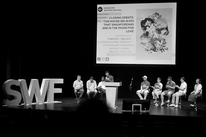 SWF Closing Debate - Singaporeans in the mood for love