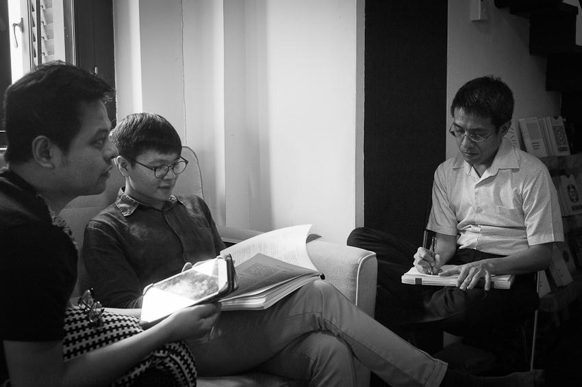 Alfian Sa'at, Tse Hao Guang & Toh Hsien Min