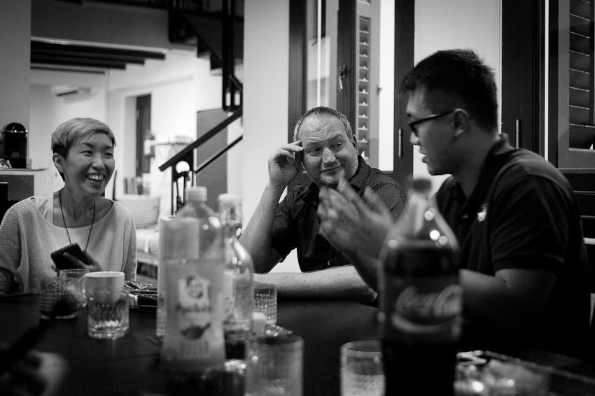 JY Yang, Darryl Whetter & Teoh Ren Jie