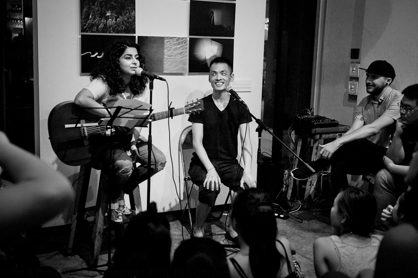 Pooja Nansi & Cyril Wong