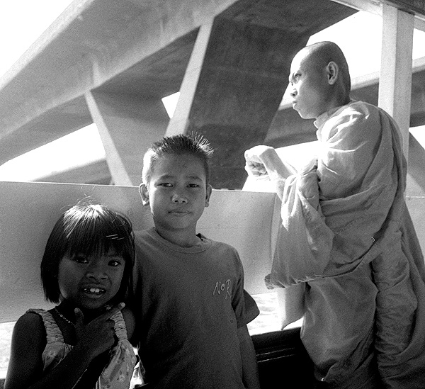 Chao Papaya River Ferry, Bangkok, Thailand, 2000