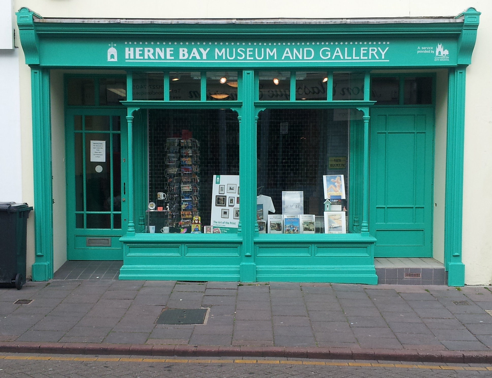 Herne Bay Museum & Gallery  8 William Street, Herne Bay, Kent CT6 5EJ