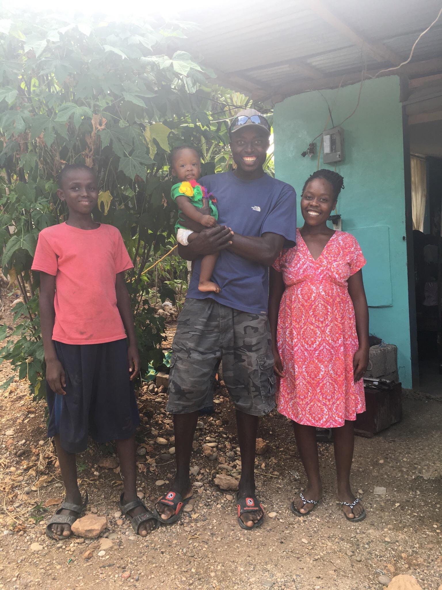 Pastor Eldet & family