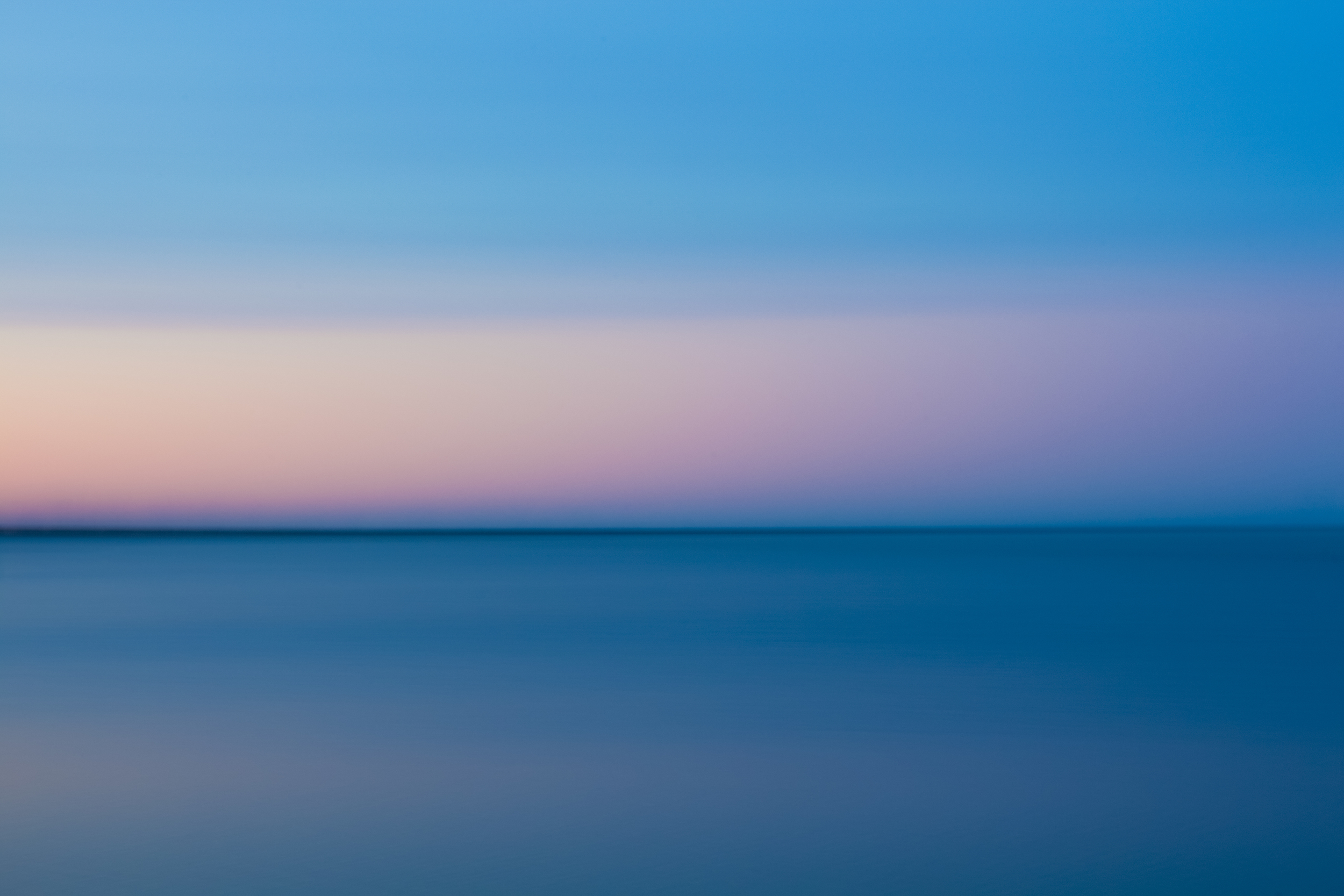Lake Erie Sunset Abstract