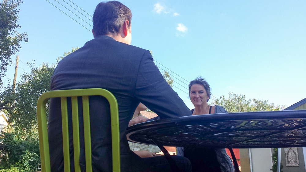 Clayton Sandell interviews Debra Johnson