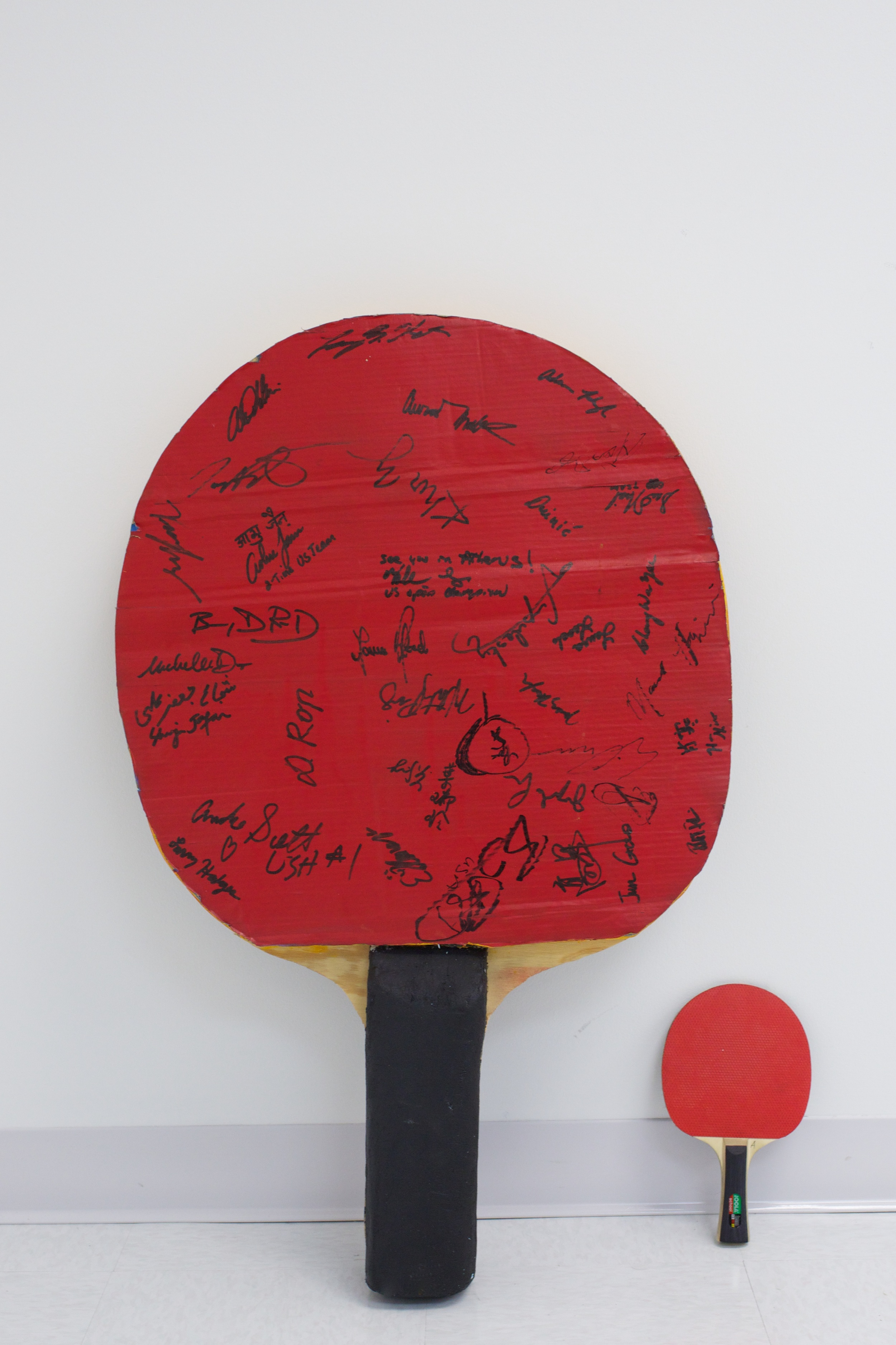 2004 US Olympic Table Tennis Trials Oversized Racket