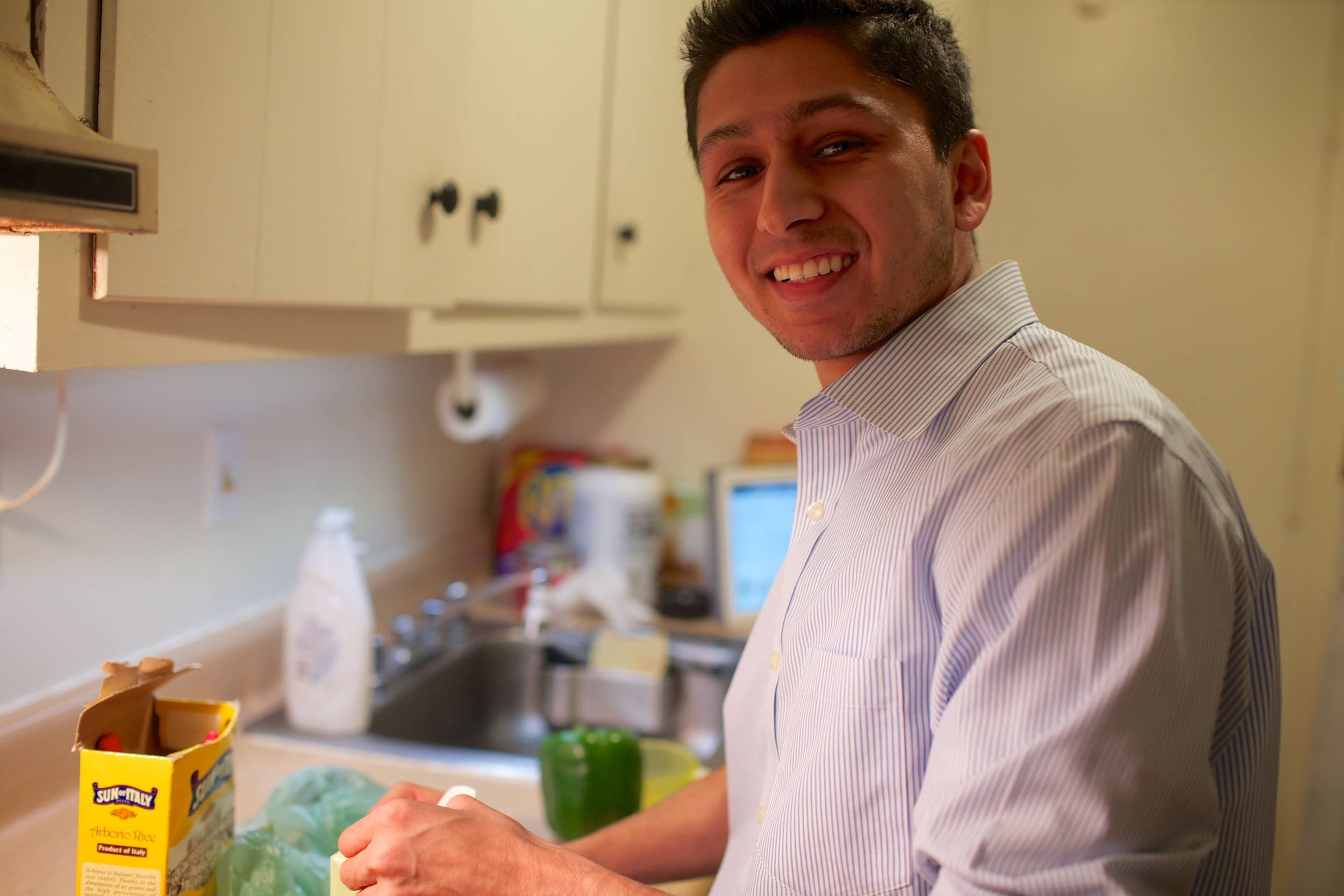 Cooking with Kunal Desai