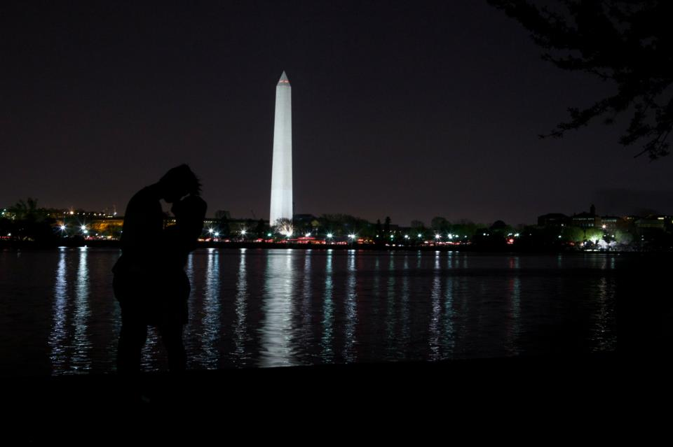 Silhouettes & The DC Monument