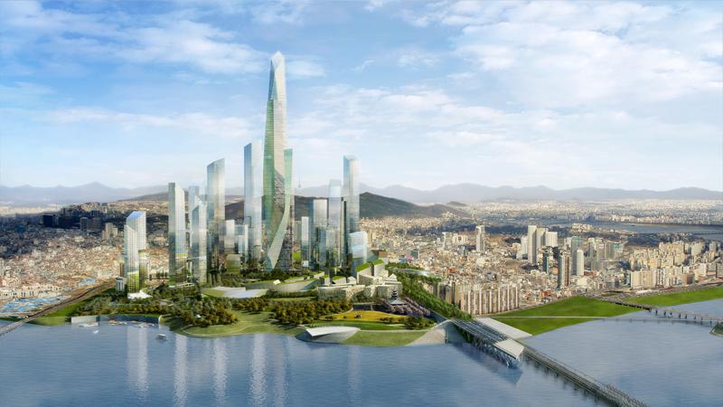 Archipelago 21  Location:Seoul, South Korea Developer: Dream Hub  Architect:  Studio Daniel Libeskind  Landscape:Martha Schwartz Partners Structural Engineer: ARUP