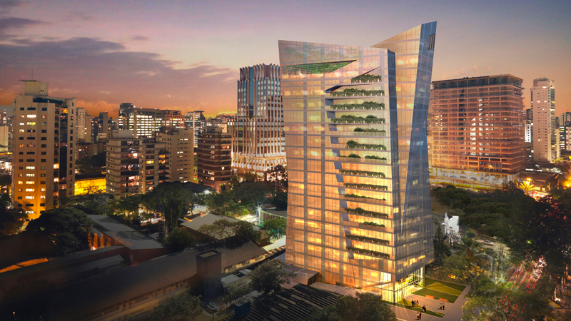 Vitra  Location:São Paulo,Brazil Developer: JHSF Project Site  Design: Studio Daniel Libeskind  Architect of Record:Pablo Slemenson Arquitetura Structural Engineer : JKMF