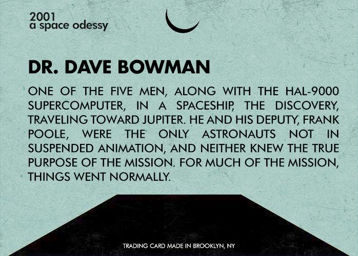 #25 - Dr. Dave Bowman - Back
