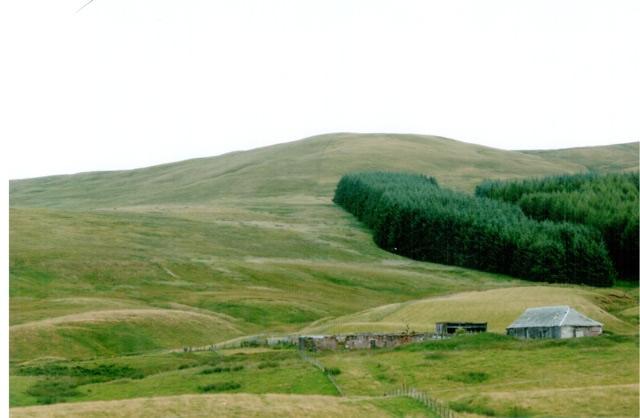 Ruins of Cockplay Farm, Blackford, Perthshire, Scotland