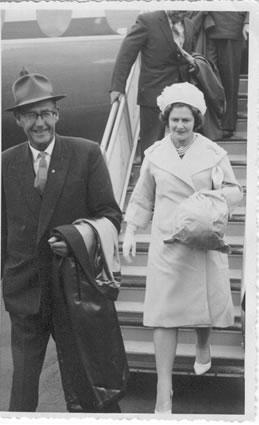 Eric Robert and Hazel Emily Anderson