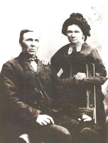 Joseph and Sarah Cooksley (formerly Gadd)