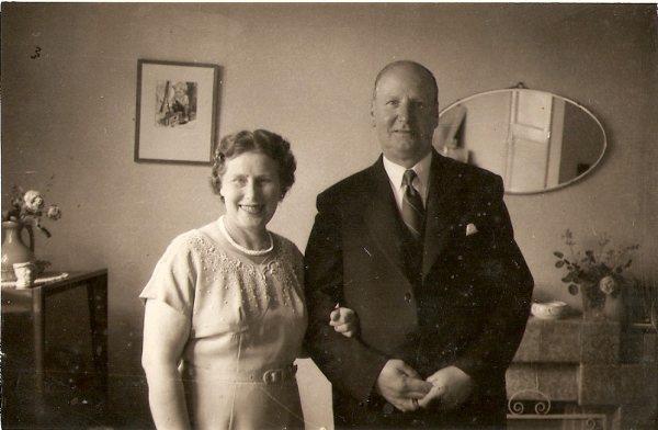 Arthur Harold and Violet Anderson