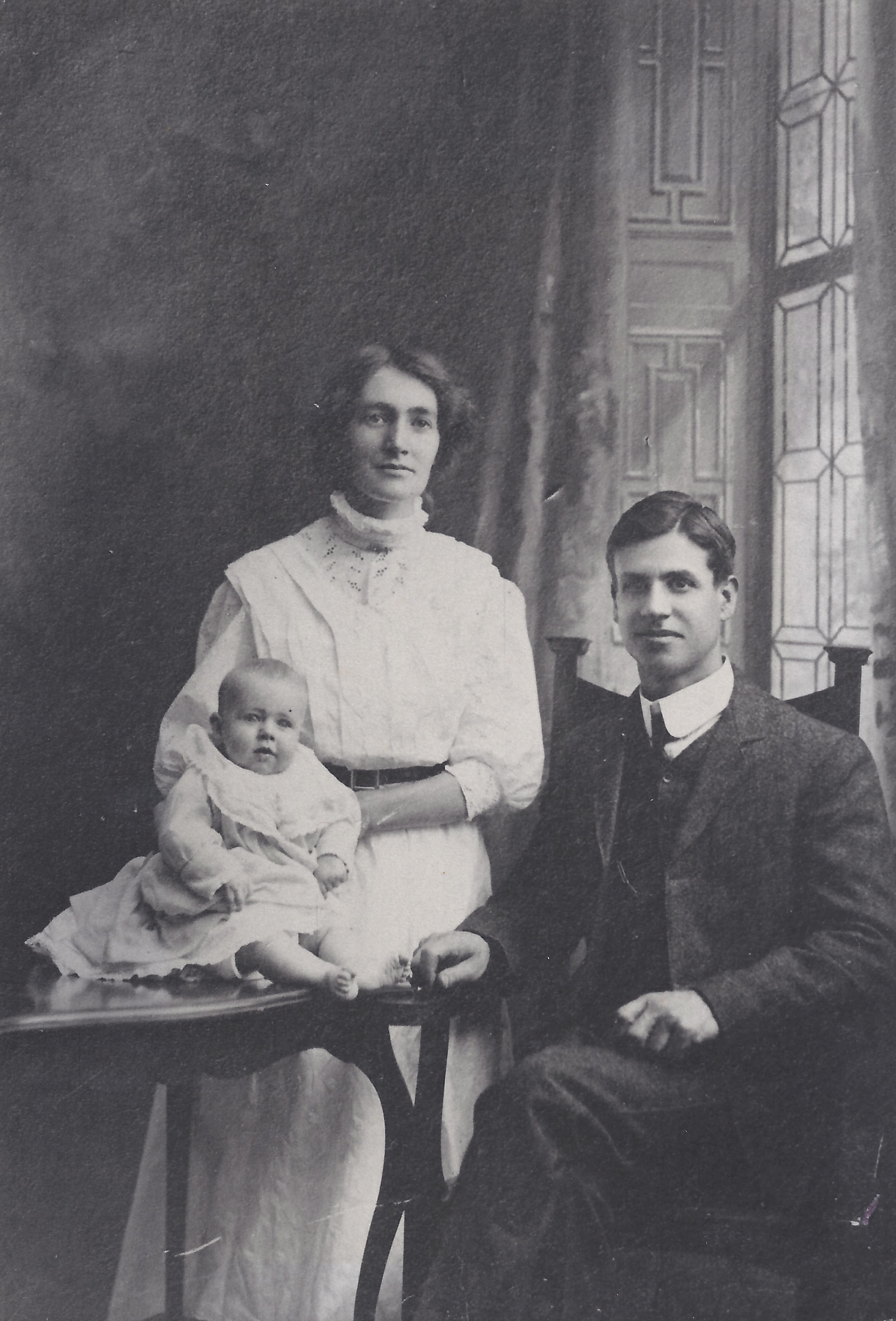Alfred and Florence Anderson with Eric Robert Anderson