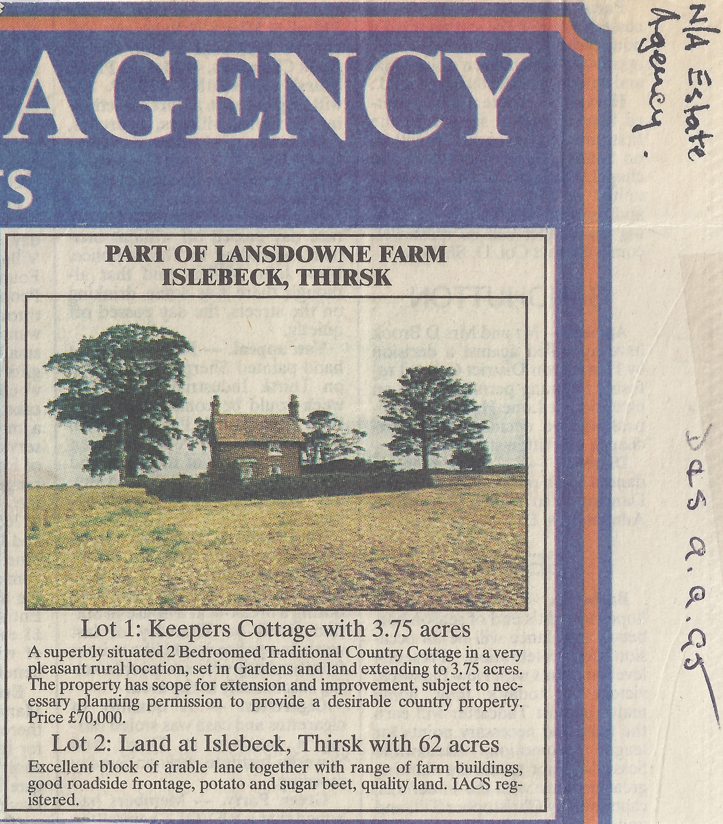Keepers Cottage For Sale