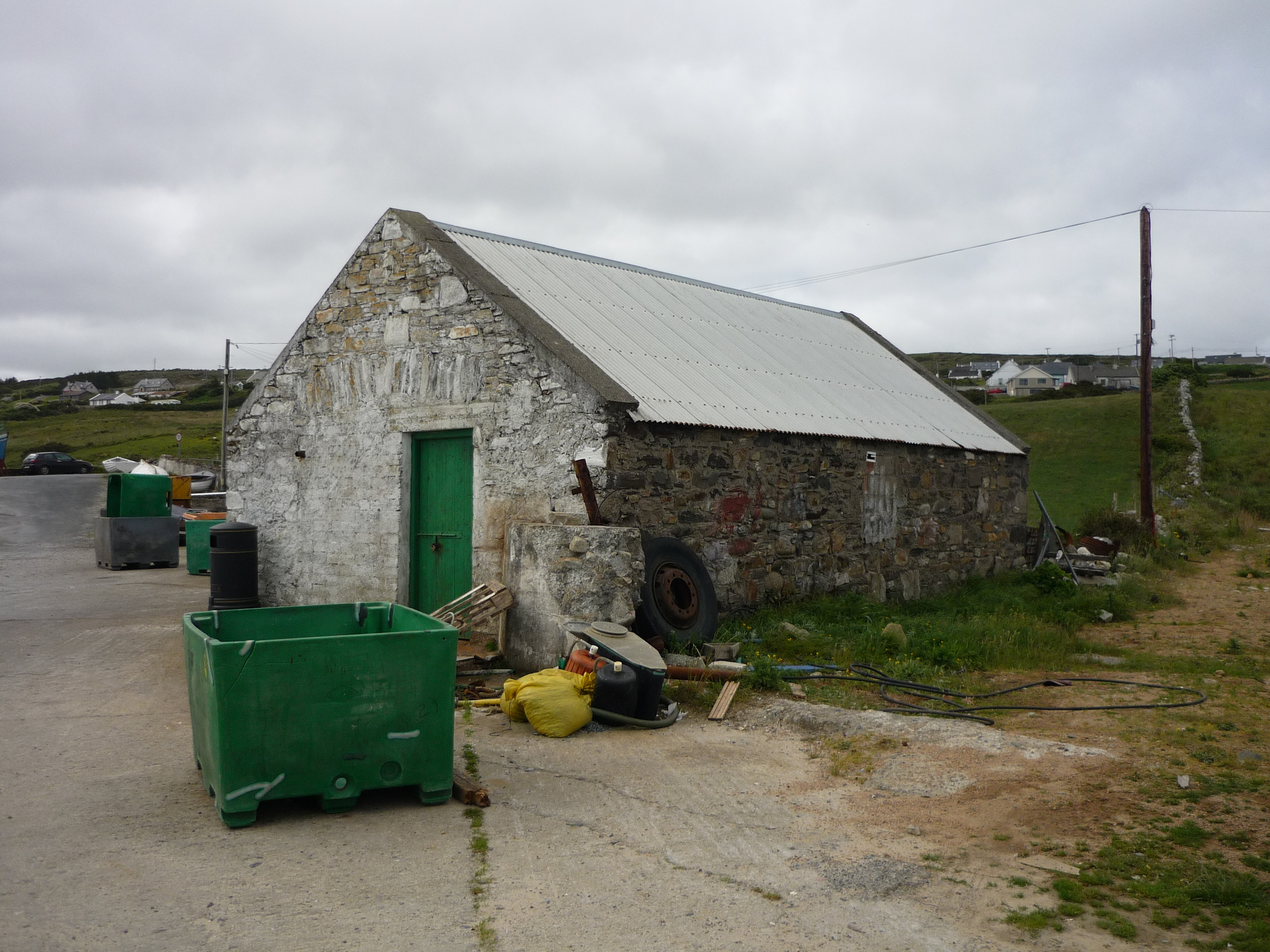 Coastguard Boathouse, Minlaragh, Donegal, Ireland