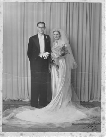 Eric Robert and Hazel Emily Anderson (formerly McCauley)
