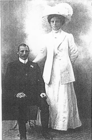 Harry and Margaret Isabella Ladner (formerly McCauley)