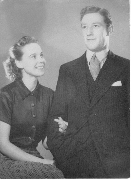 John Glen and Joan Dorothy McCauley (formerly Harvey)