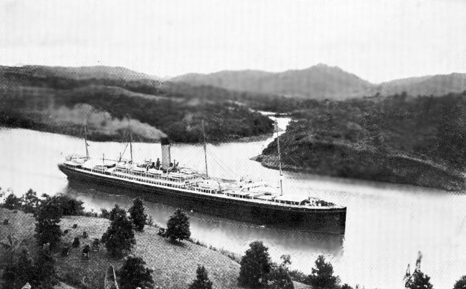 The  Ionic  in the Panama Canal