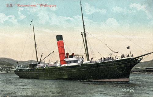SS  Rotomahana