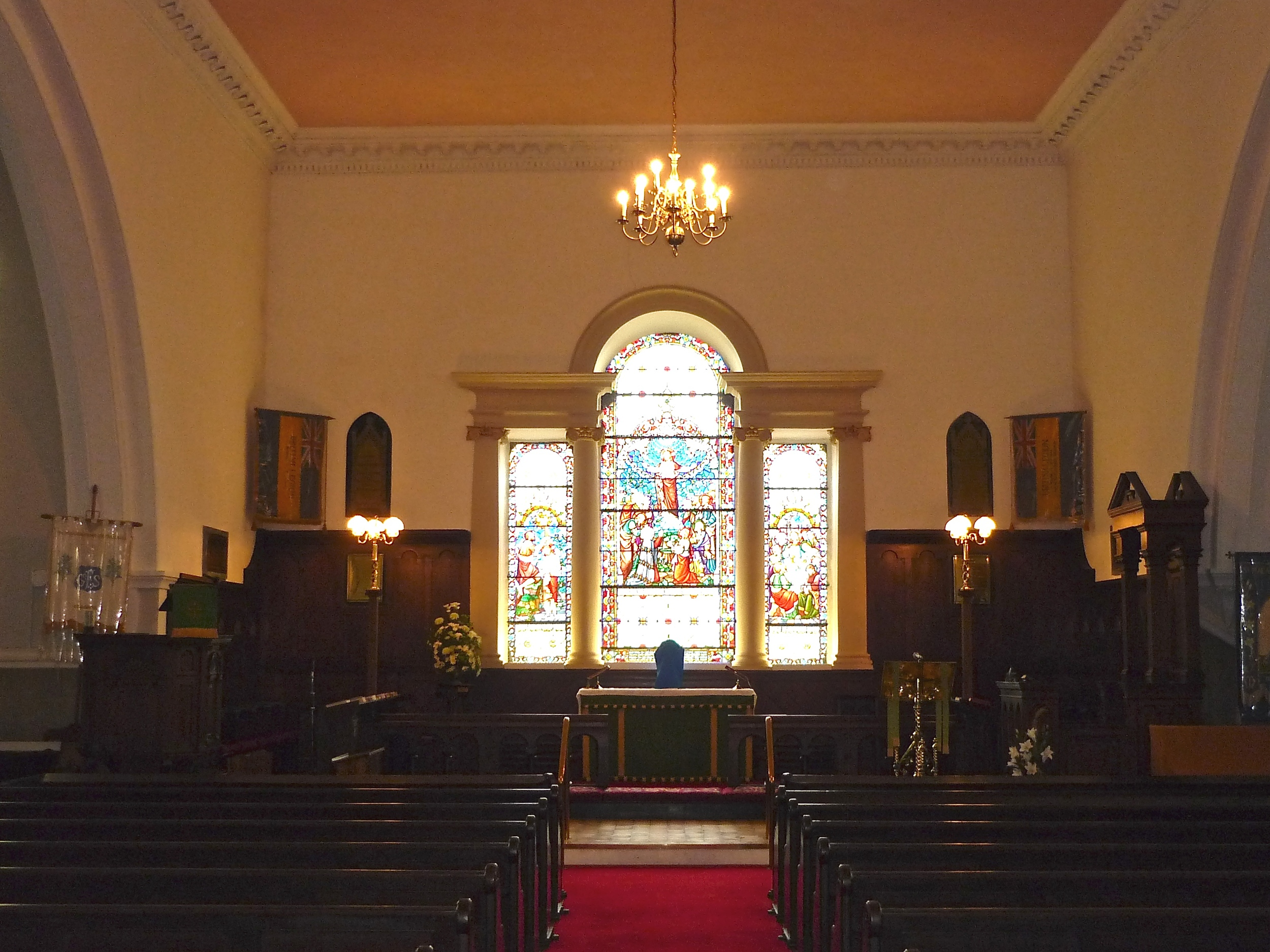 Interior of Clogher Cathedral, Tyrone, Northern Ireland