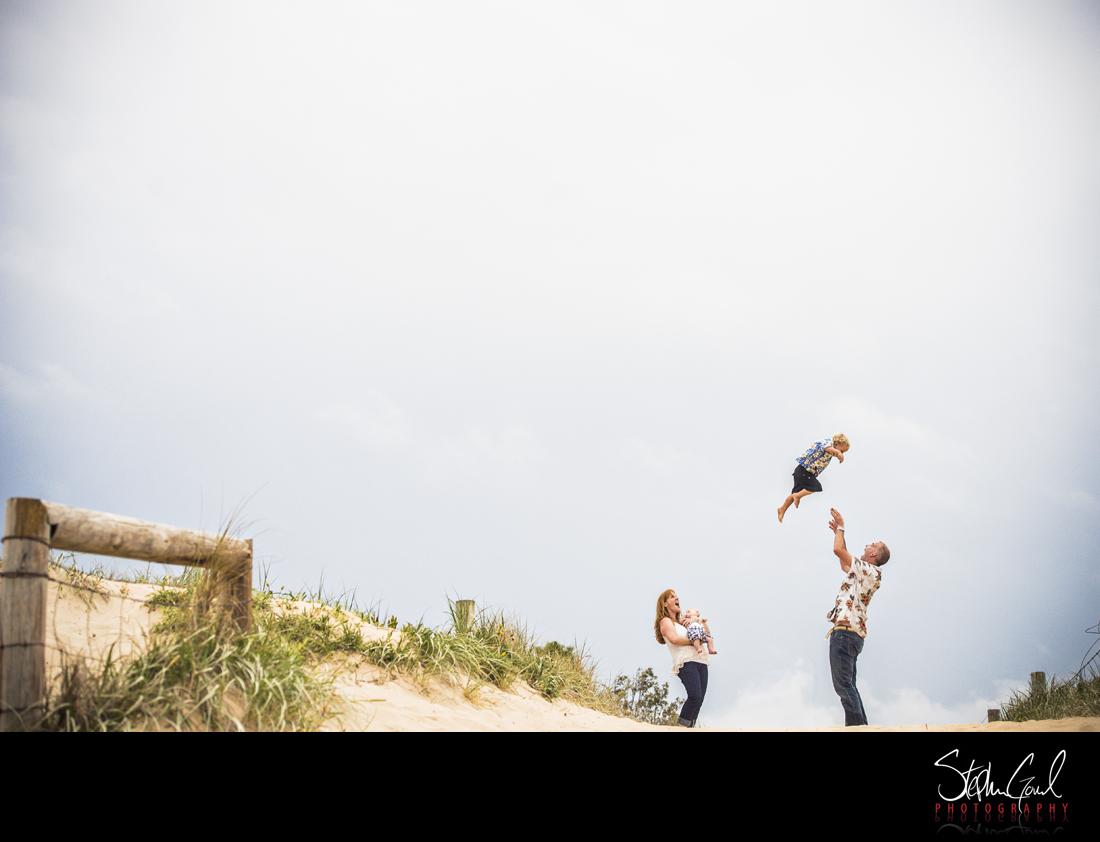 freshwater beach family photos fun unique sydney nsw portrait