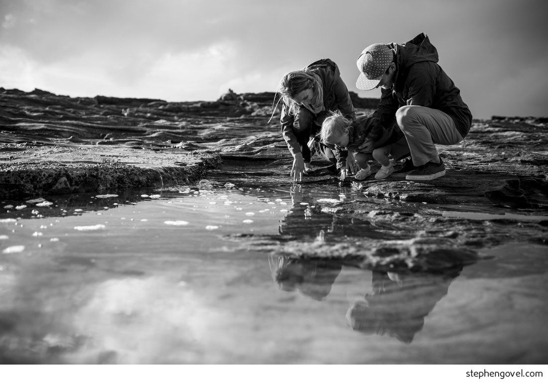 freshwater beach family photos
