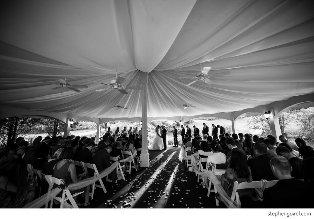 caitlin gardens new york nature woods wedding crazy party