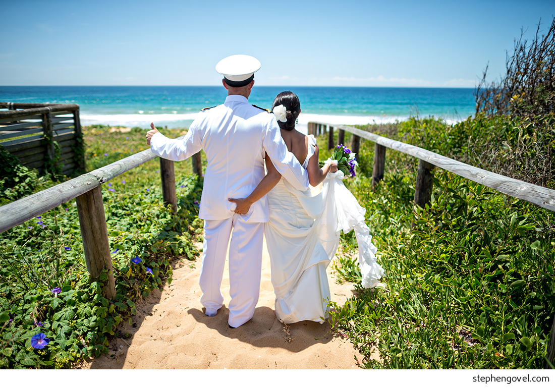 narrabeen northern beaches wedding fun silly candid beautiful navy