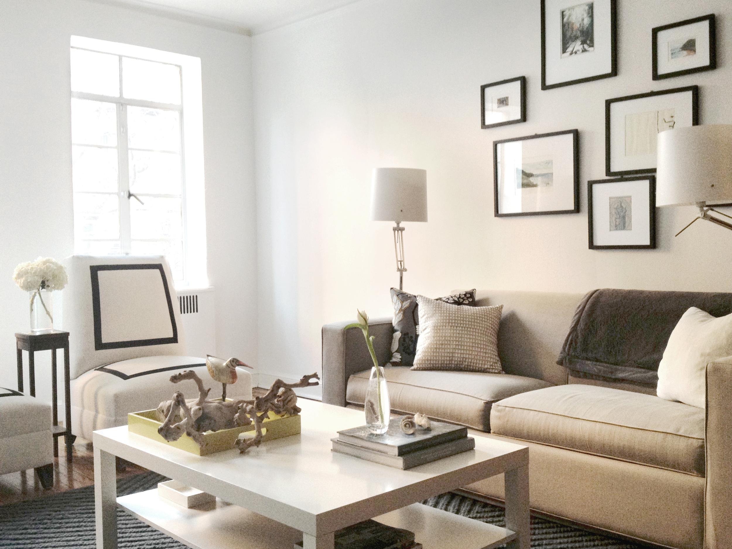 Jacqueline Pagan Interior Design|West 88 St|Living Room