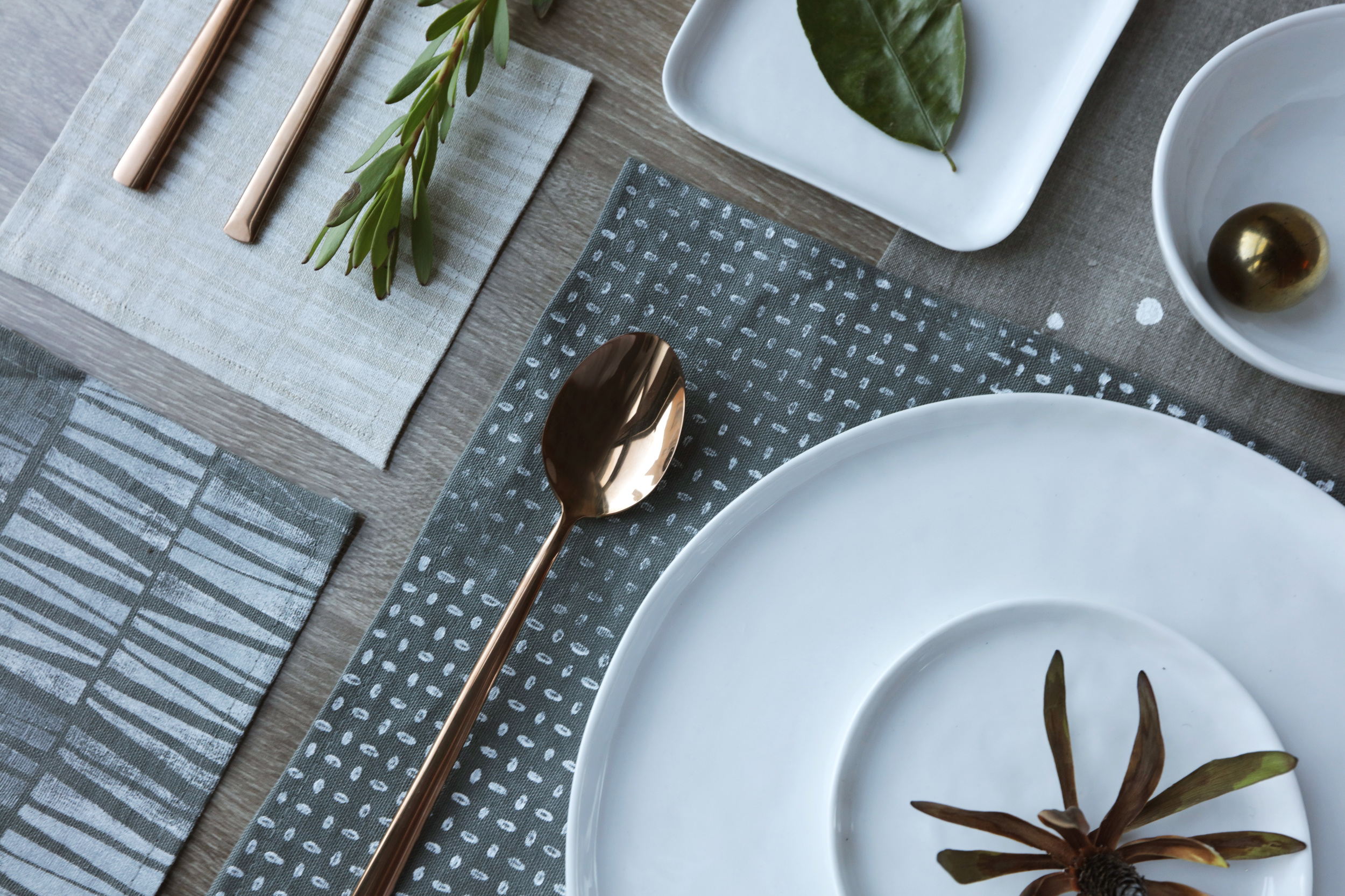 JAX+HOME COLLECTION | TABLETOP LINENS