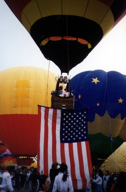 Carrying the Flag at AIBF