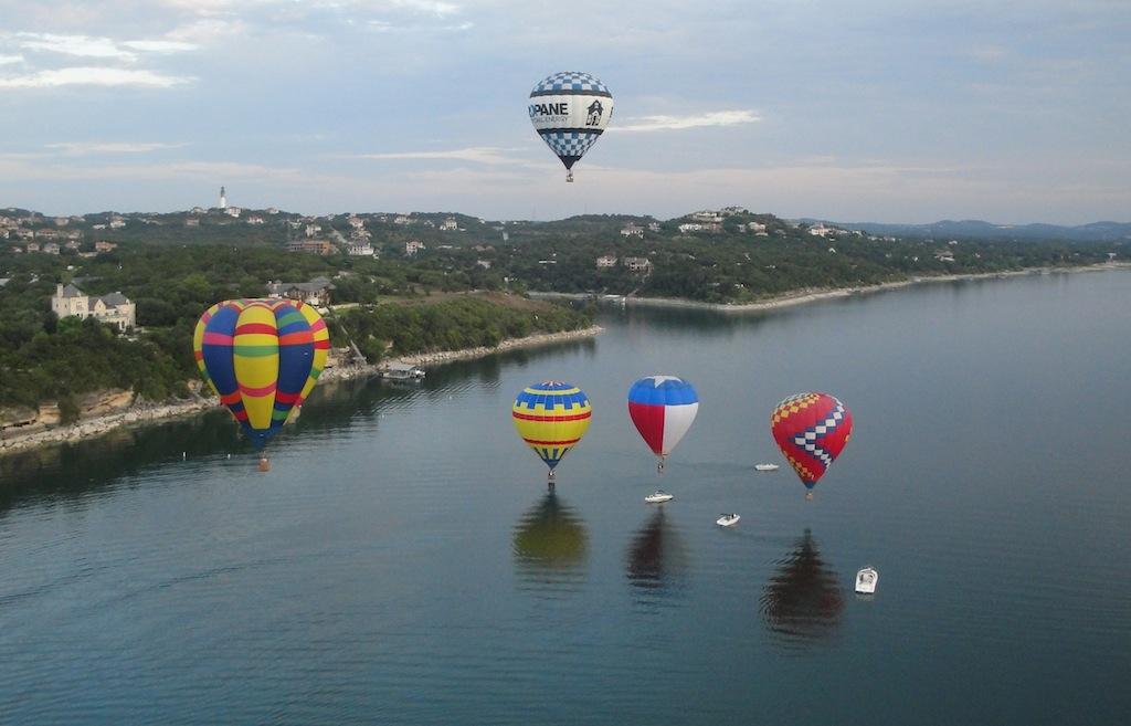Lake Travis Flight