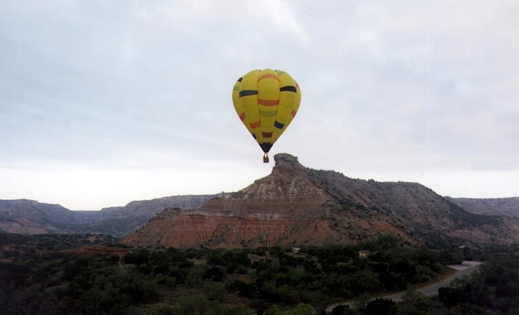 Palo Duro Canyon Flight