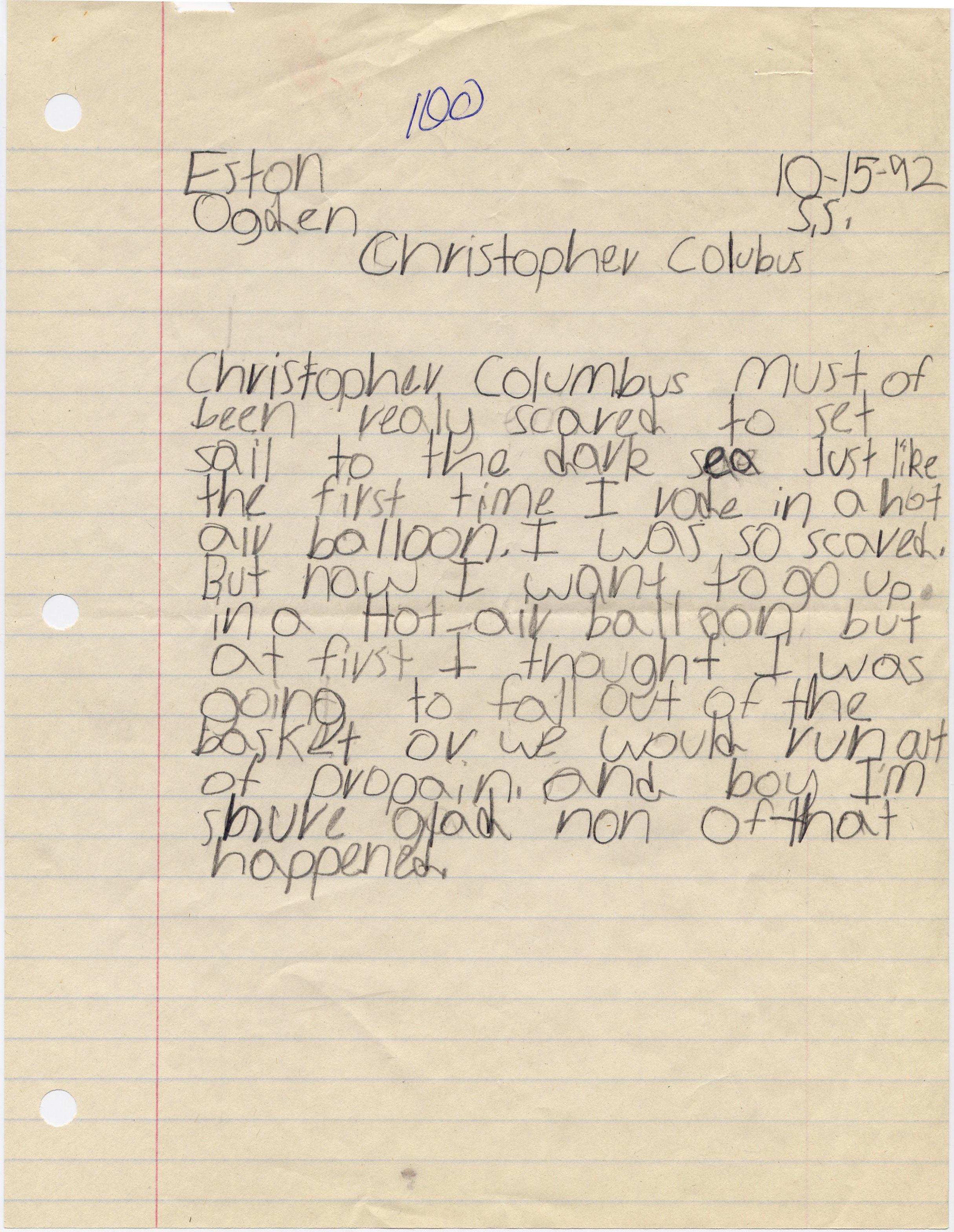 by Eston Betts Age 7