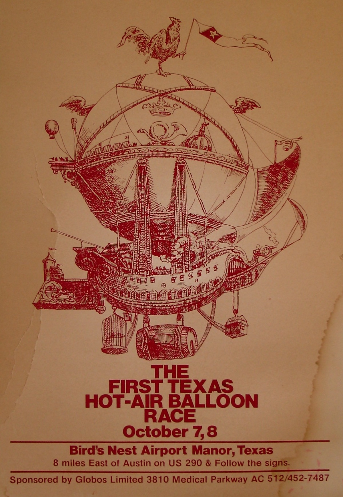 1st Texas Hot Air Balloon Race 1972