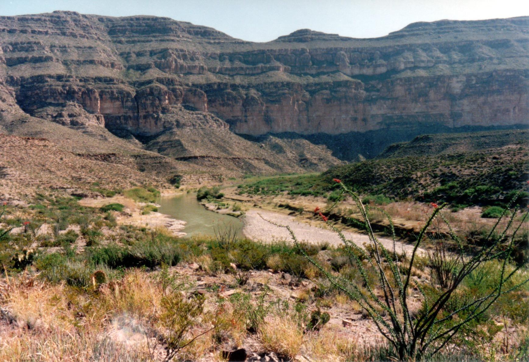 Reagan Canyon, Rio Grande River