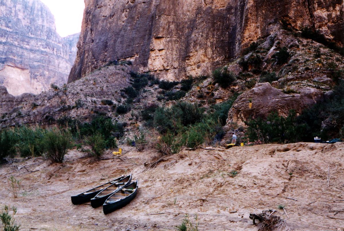 Boquillas Canyon camp
