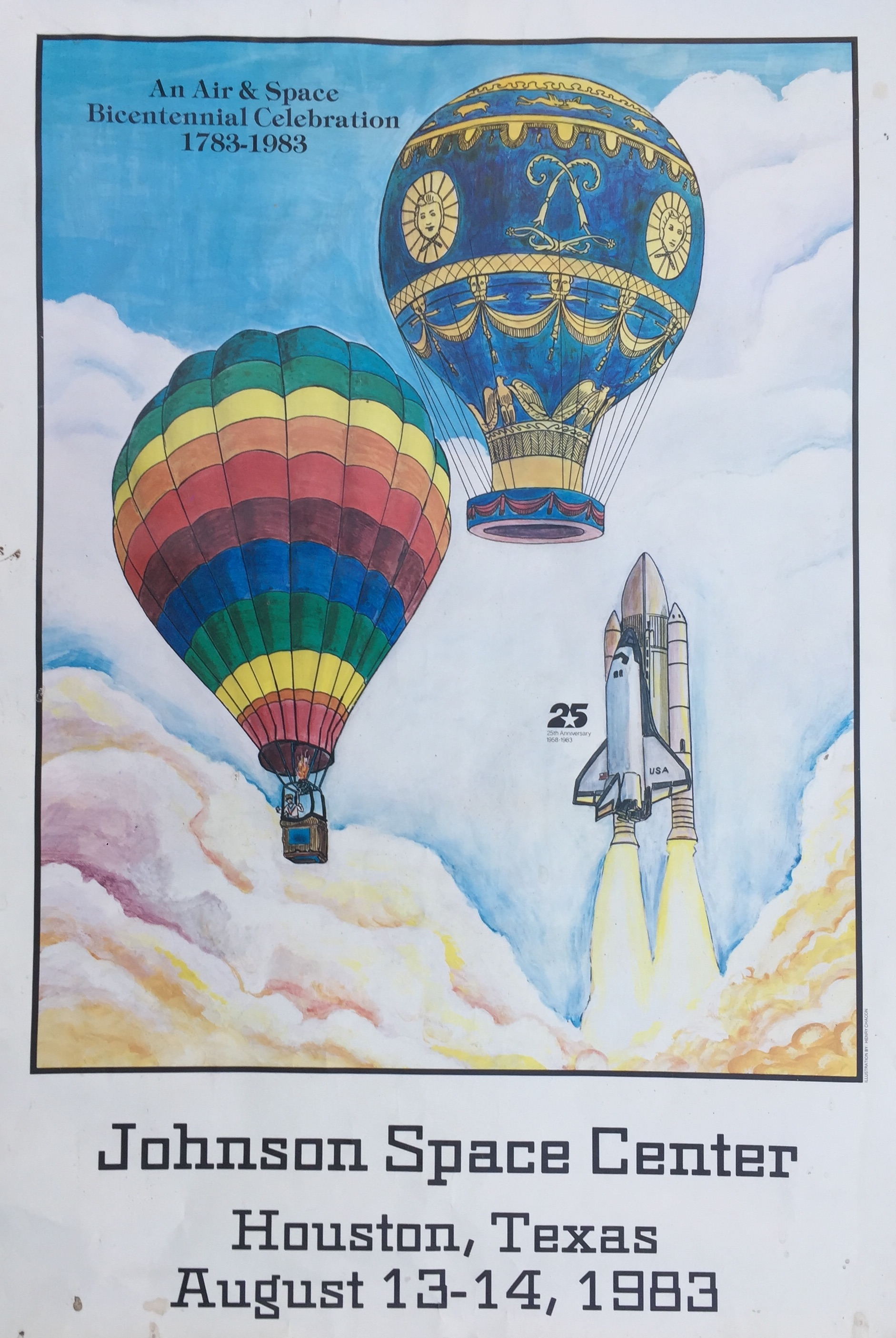 Old Balloon Posters