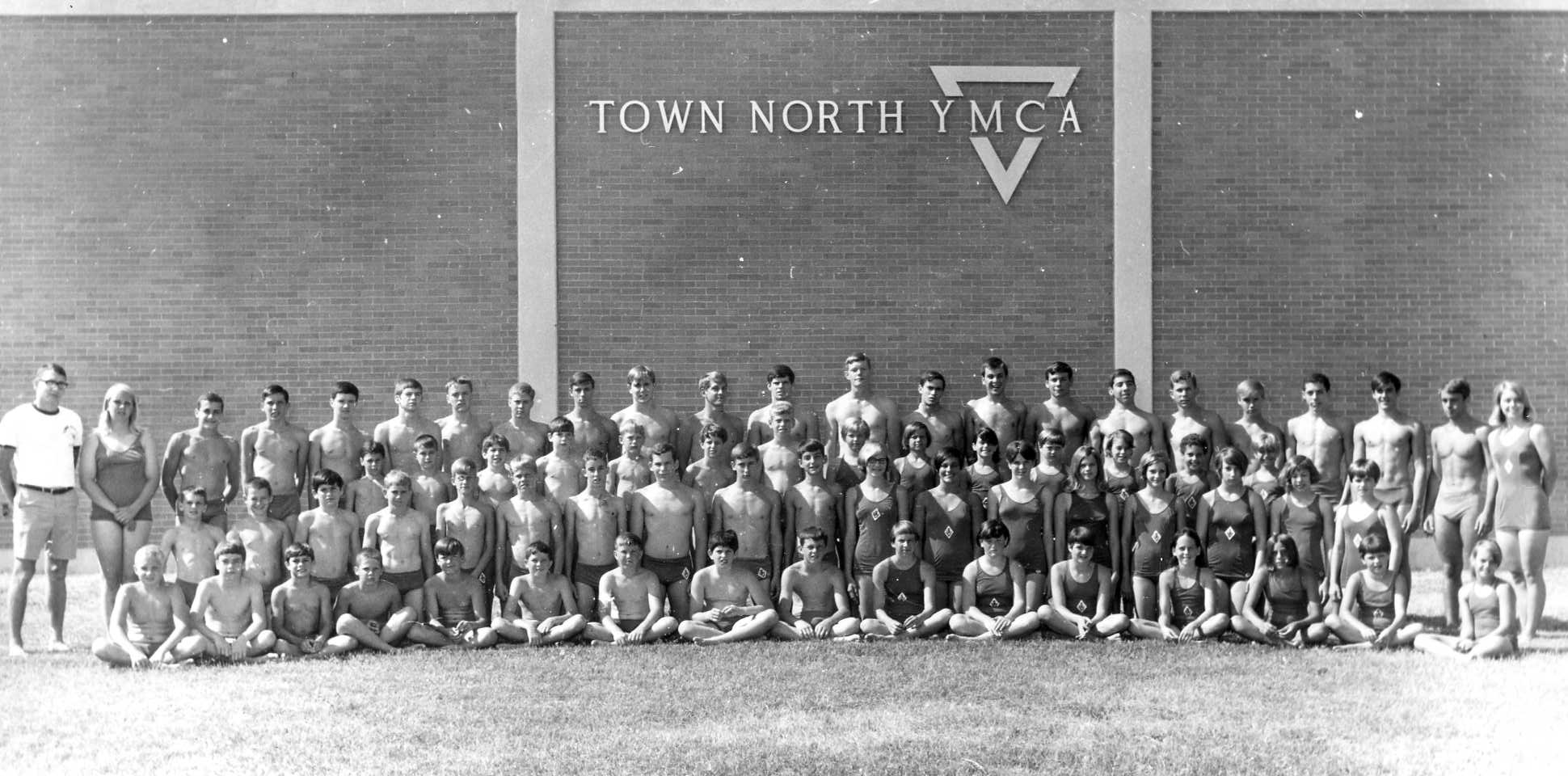 Town North YMCA Swimming Team