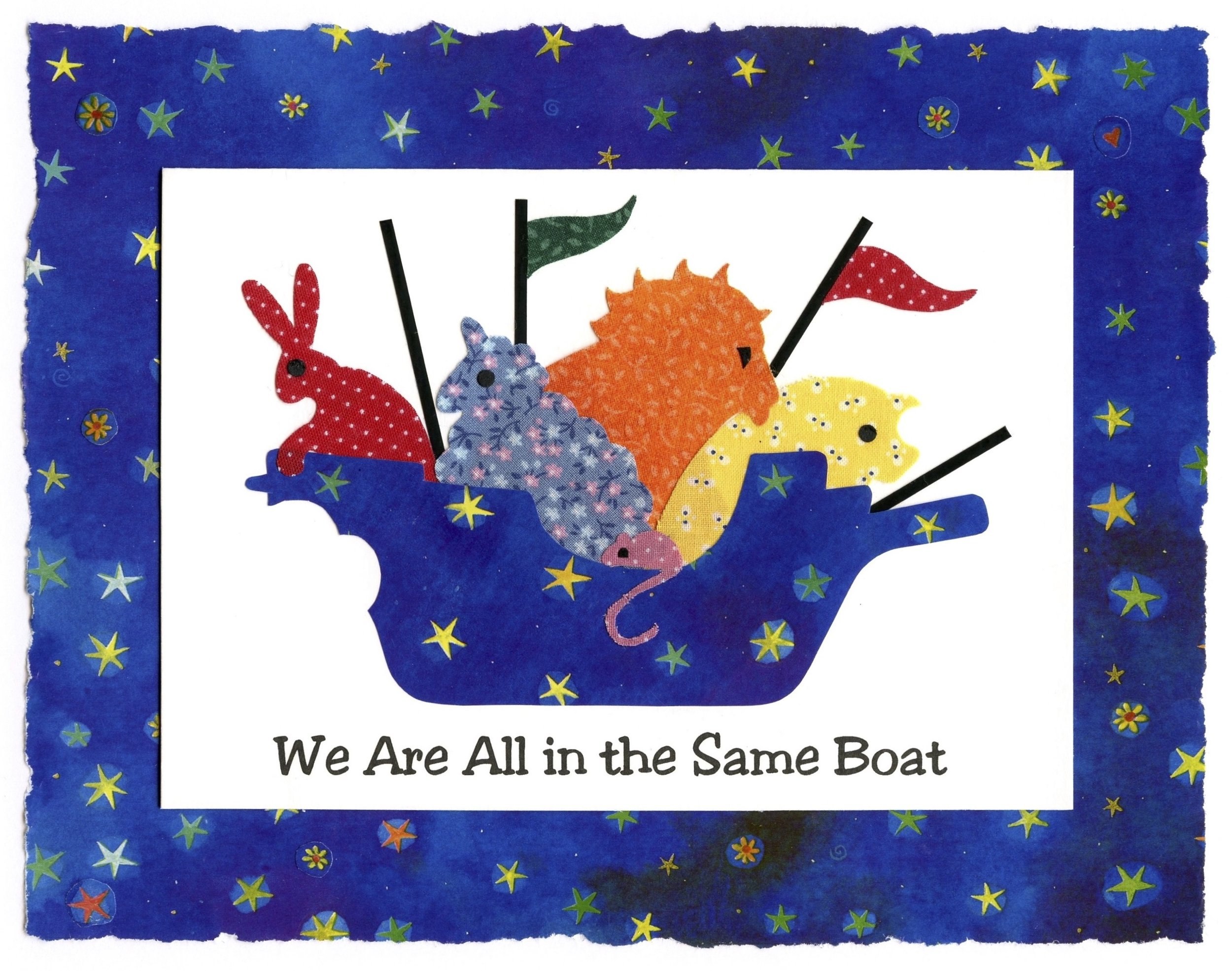 We Are All In the Same Boat-print-KariCates.jpg