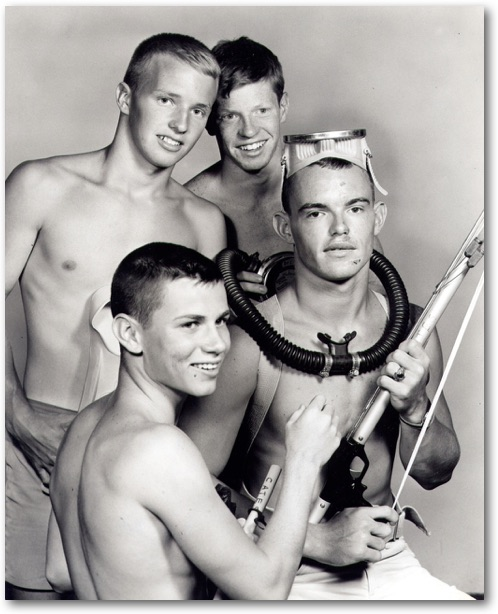 Clockwise: Lloyd Cates, Jimmy Galbraith, Teddy Galbraith & John (Buck) Ritts