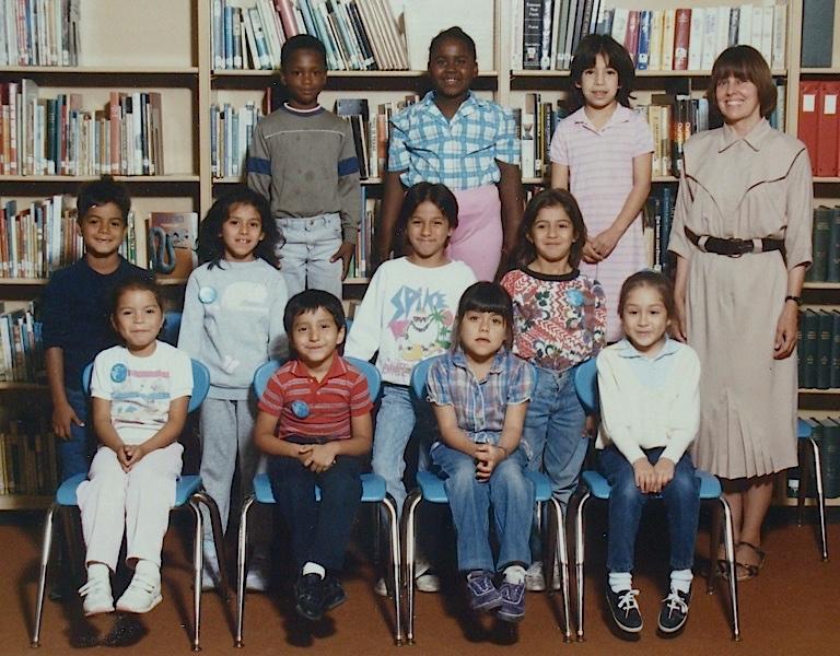 Kari's 1st grade class